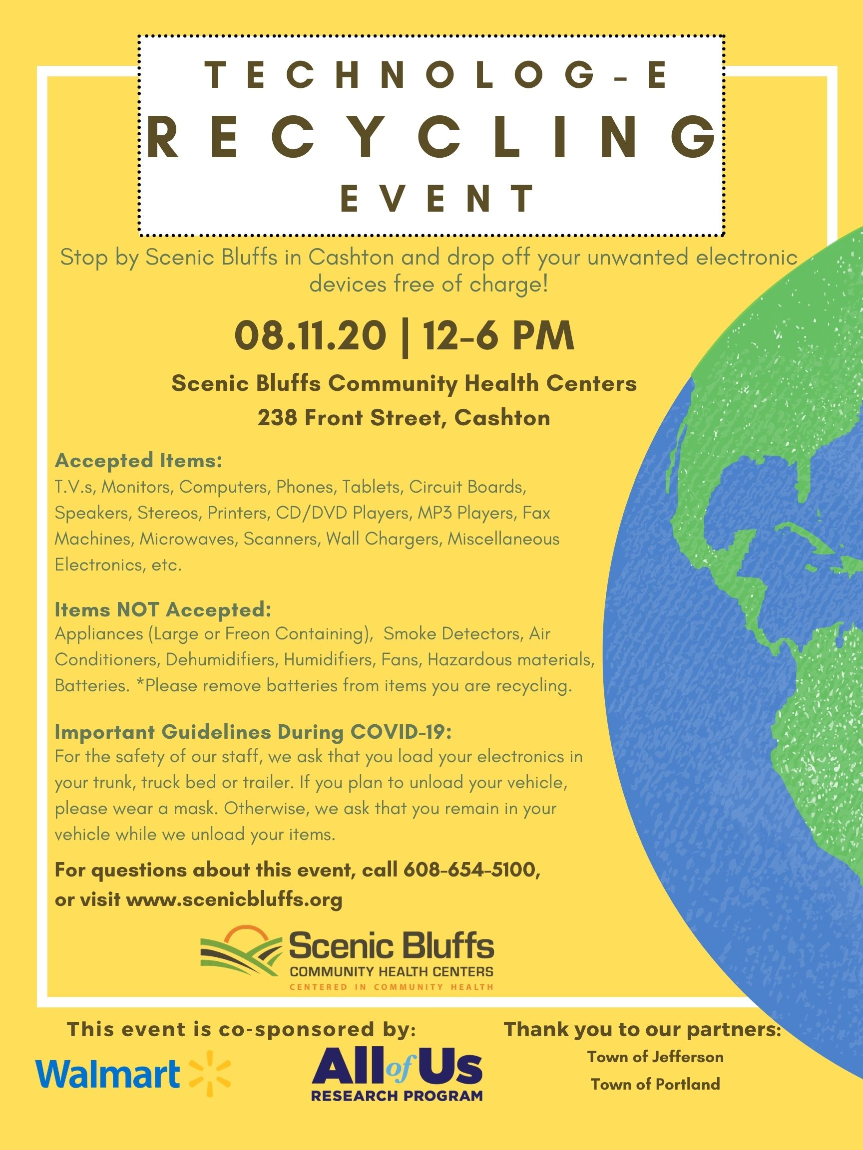 5th Annual Technolog-E Recycling Event
